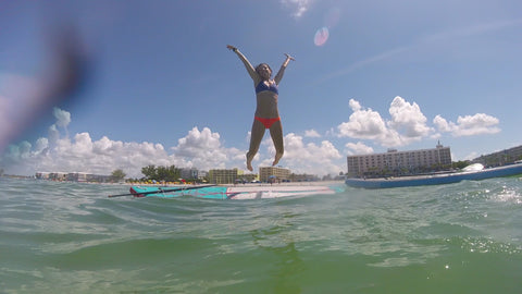 Coast to Coast in Florida with the Capra Water Family - Nicole Jump Tahoe SUP Alpine Explorer inflateable