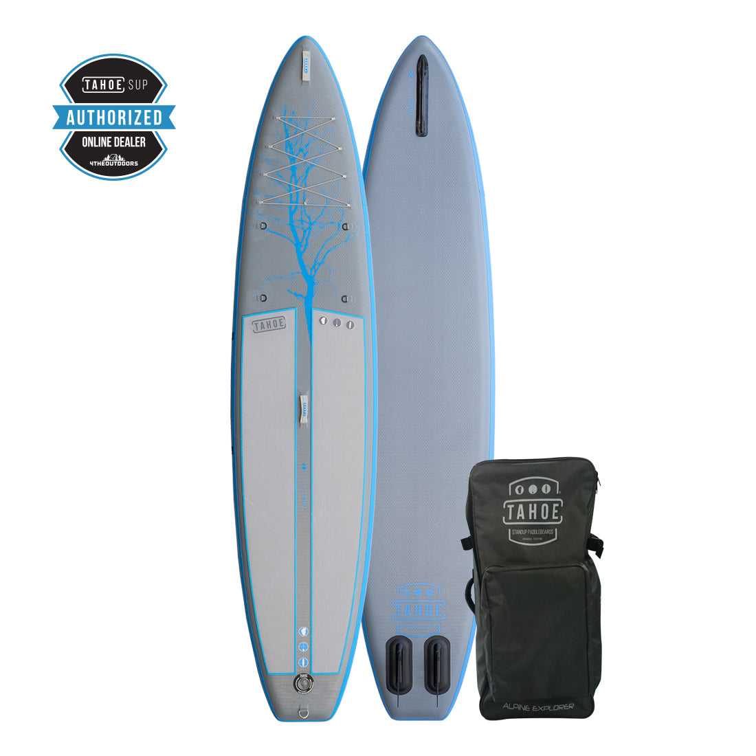 Tahoe iSUP Alpine Explorer - Gray/Blue - Inflatable