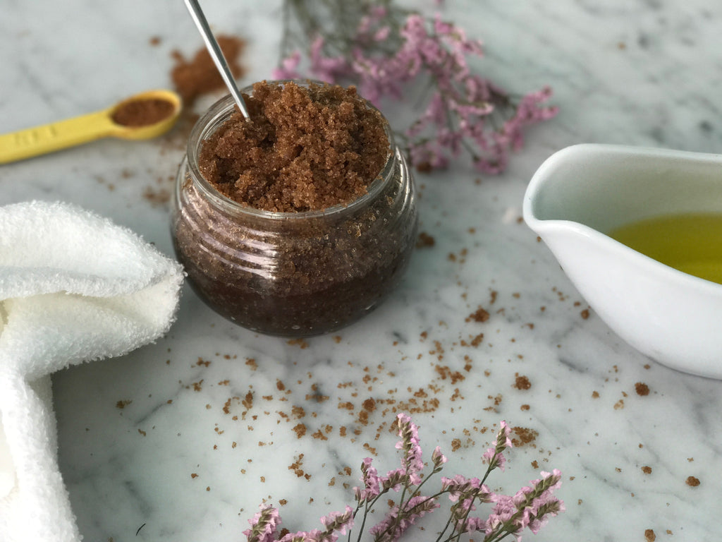 Being Selfish: Homemade Sugar Scrub
