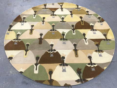 Wolof-Handtufted 7 Ft Round