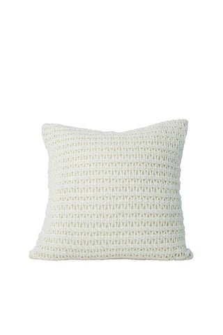 Hand Crochet 16 in pillow