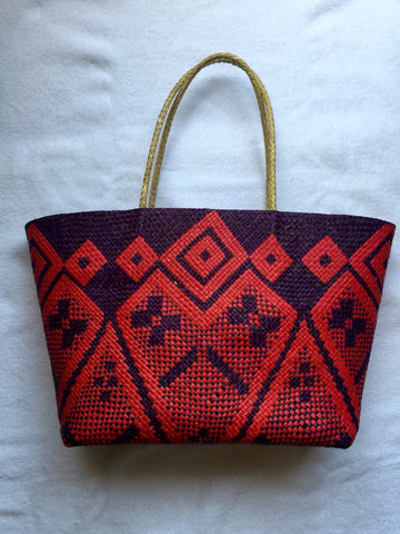 Tote-Red/Purple