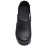 PROFESSIONAL CLOSE BACK BOX LEATHER CLOG