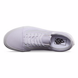 C/O OLD SKOOL TRUE WHT CNVS LO LACE UP