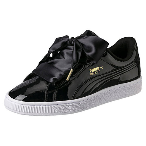 PUMA BASKET HEART PATENT WOMEN'S SNEAKERS