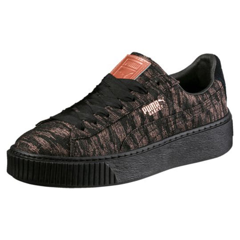 BASKET PLATFORM VELVET ROPE WOMEN'S SNEAKERS