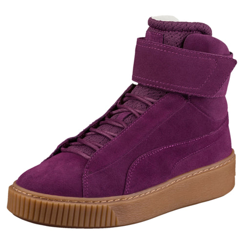 PUMA PLATFORM MID OW WOMEN'S HIGH TOP SNEAKERS
