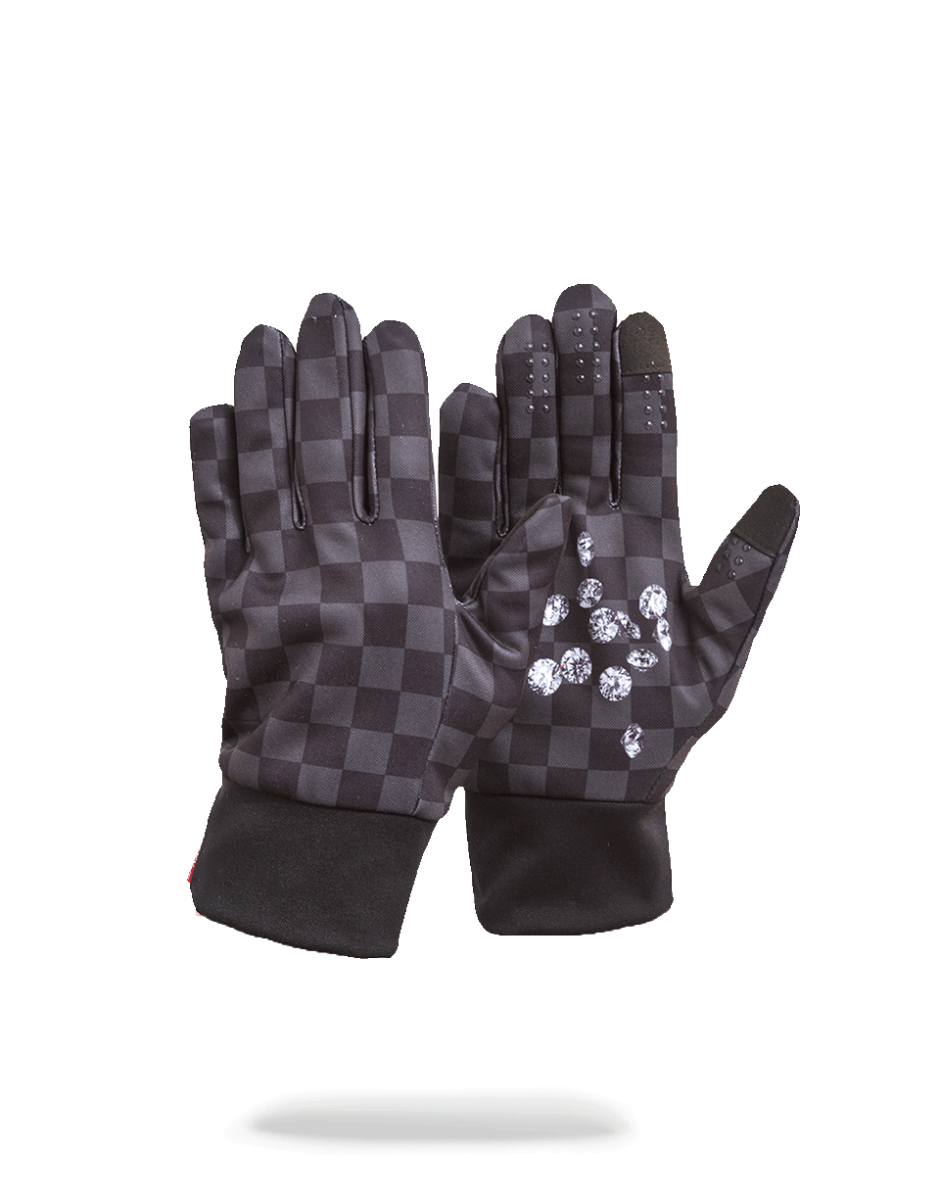 SPRAYGROUND DIAMONDS IN PALM GLOVES