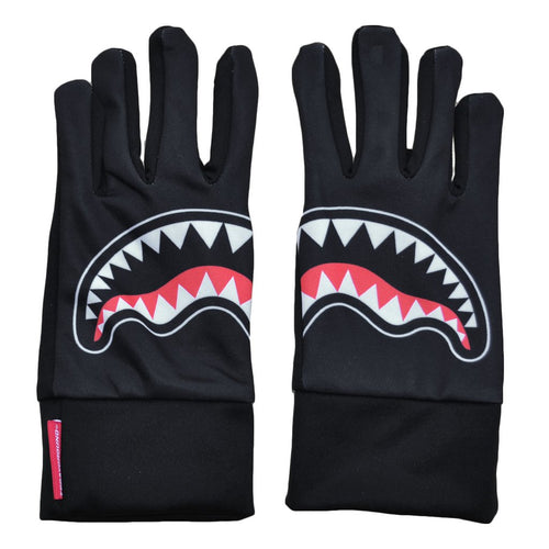 SPRAYGROUND BLACK SHARK MOUTH GLOVES