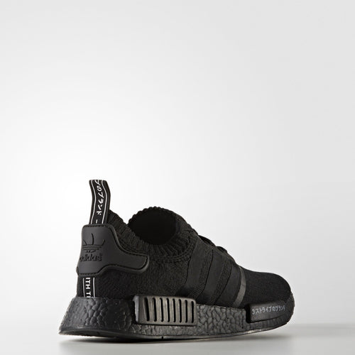 "NMD R1 PRIMEKNIT SHOES // ""JAPAN PACK"" TRIPLE BLACK"