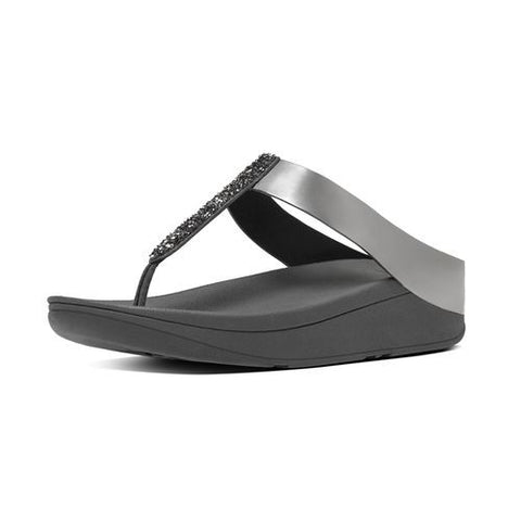 FINO™ SOFT METALLIC TOE-THONG SANDALS