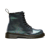 DELANEY SPARKLE GREY T  8 EYE LACE UP BOOT