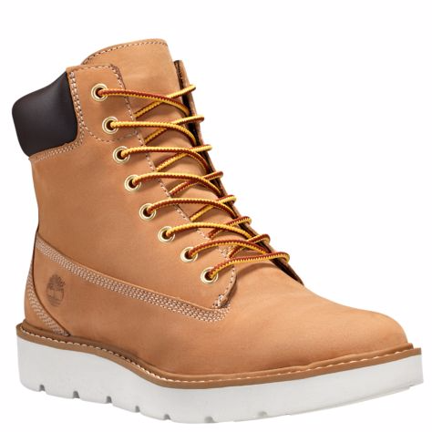 TIMBERLAND WOMEN'S KENNISTON 6-INCH LACE-UP BOOTS
