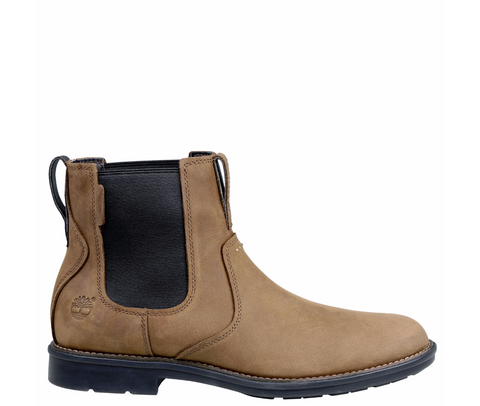 MEN'S CARTER NOTCH PLAIN-TOE CHELSEA BOOTS