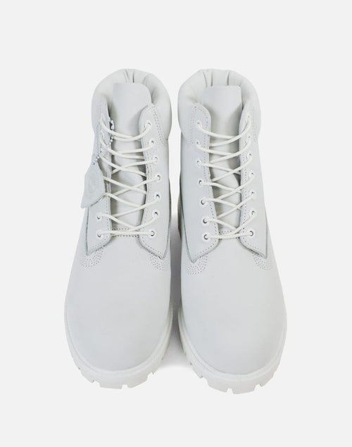 "TIMBERLAND LIMITED RELEASE ""GHOST WHITE"" 6-INCH BOOT"