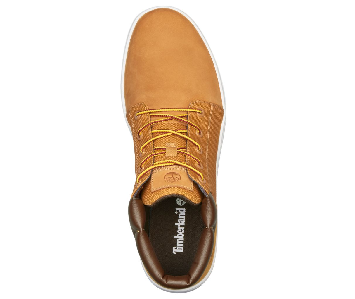 TIMBERLAND MEN'S DAVIS SQUARE MIXED-MEDIA CHUKKA SHOES