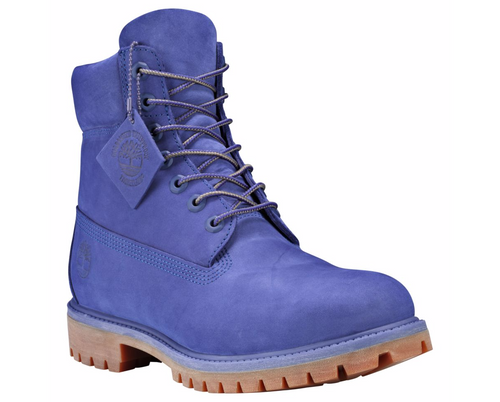 TIMBERLAND LIMITED RELEASE VIOLET HAZE 6-INCH PREMIUM WATERPROOF BOOTS