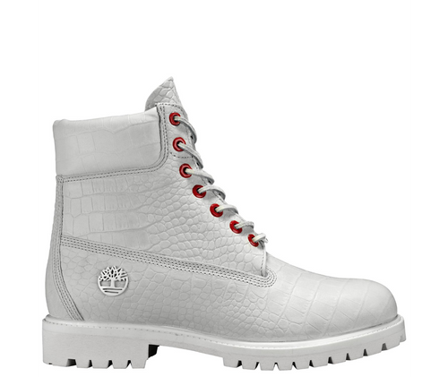 TIMBERLAND LIMITED RELEASE WHITE SERPENT 6-INCH PREMIUM WATERPROOF BOOTS