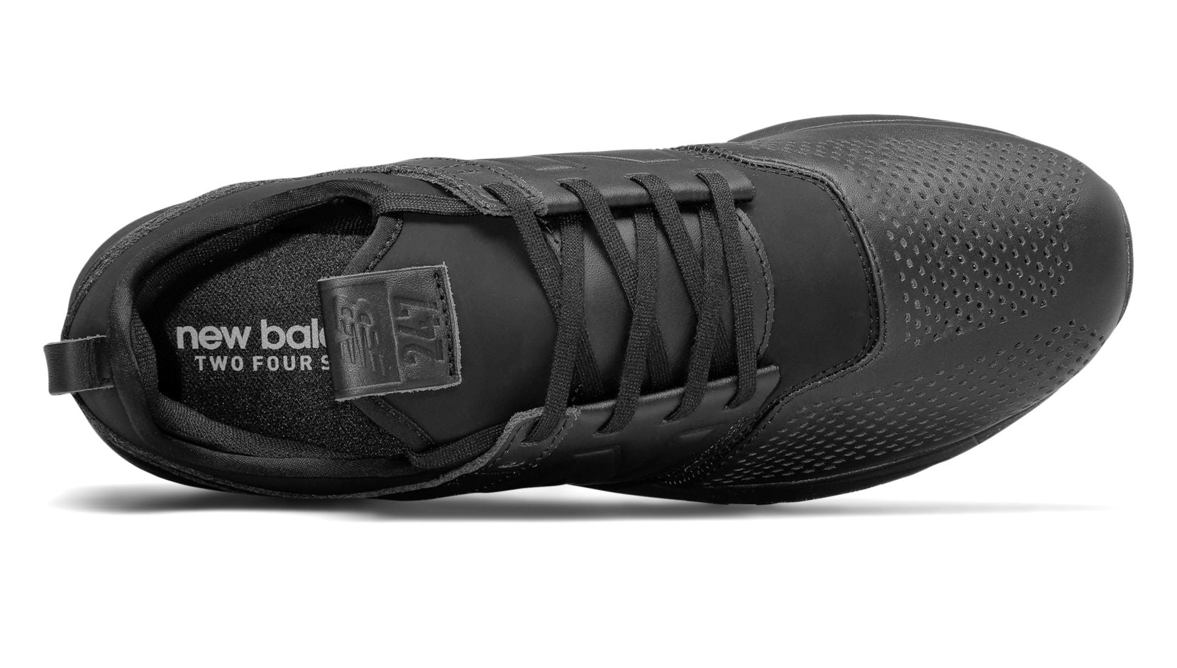 new balance 247 leather black