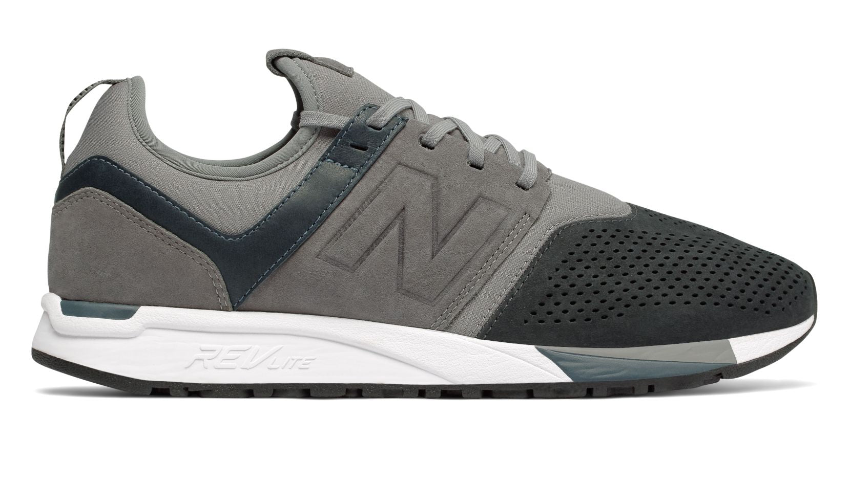 new balance 247 luxe grey