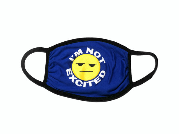 "Nipsey Blue ""I'm Not Excited"" Mask"
