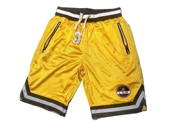 LOM Baller Shorts Yellow