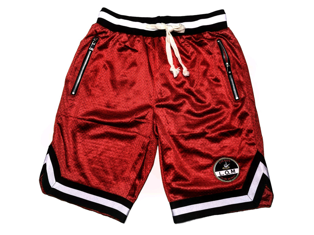 LOM Baller Shorts Red