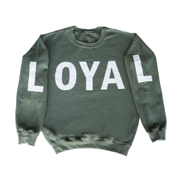 Olive Oil Crewneck - Green