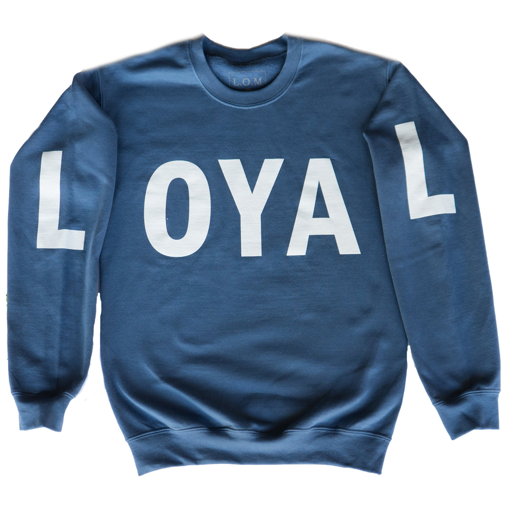Seaside Loyal Crewneck - Blue