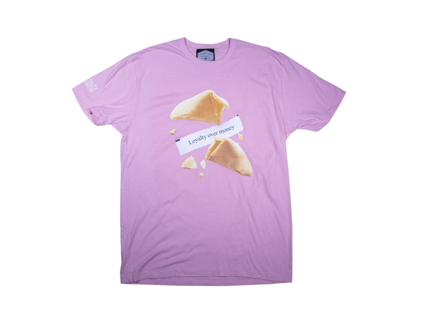 Fortune Cookie Shirt (Powder Pink)