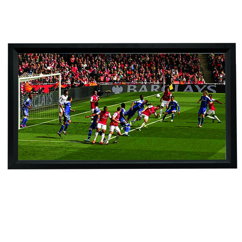 HDTV Format Fixed Frame Screen