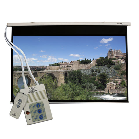 Motorized Projection Screen