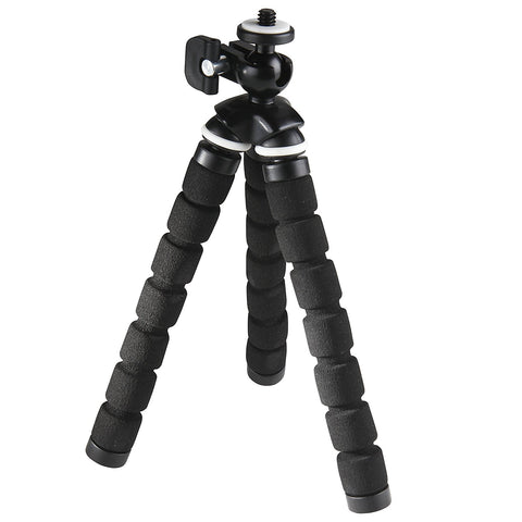 SIMA Small Portable Flexible Bendy Tripod with Bendable Grippy Foam Legs - 5""