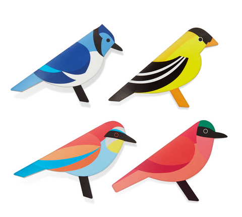 MoMA - Pop-Up Card - Modern Birds