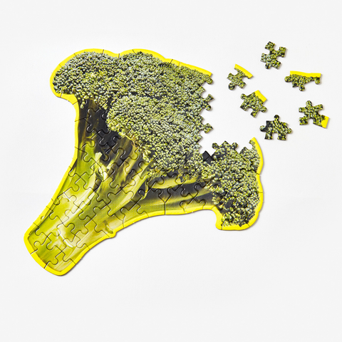 Areaware - Little Puzzle Thing - Broccoli
