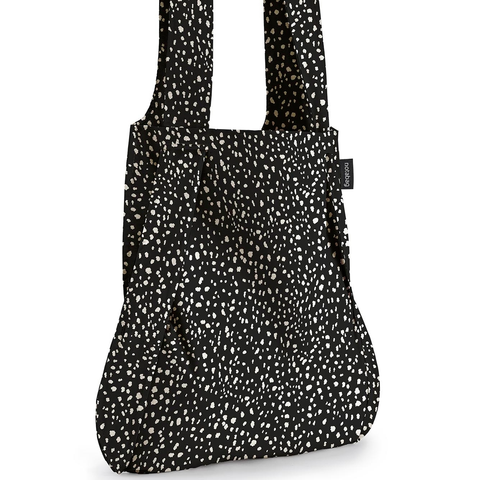 Notabag - Handbag & Backpack - black sprinkle