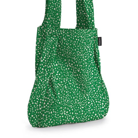 Notabag - Handbag & Backpack - green sprinkle