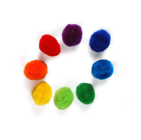 Tät-Tat - Pompon Rainbow Magnets