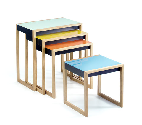 MoMA - Josef Albers Nesting Tables (set of 4)
