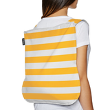 Notabag - Backpack & Handbag - Stripes - golden