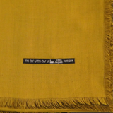 marumasu - tencel scarves - yellow & olive