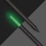 Perpetua Lumina - Recycled Graphite Pencils - Glow in the dark