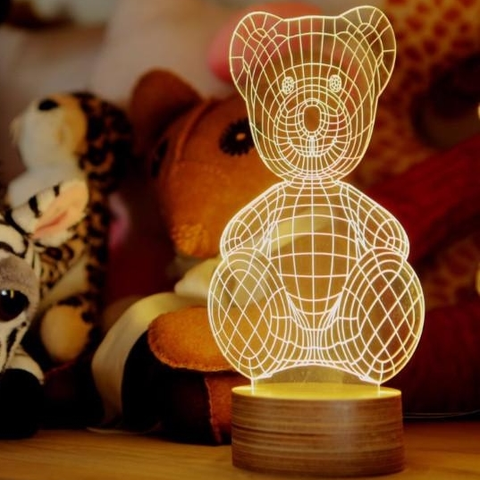 Studio Cheha - Teddy Bear Lamp
