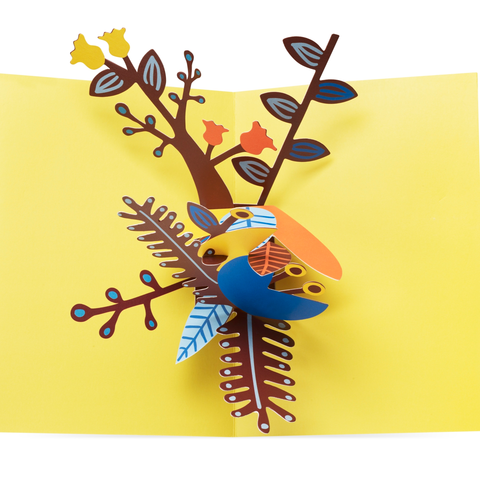MoMA - Pop-Up Card - Playful Leaves
