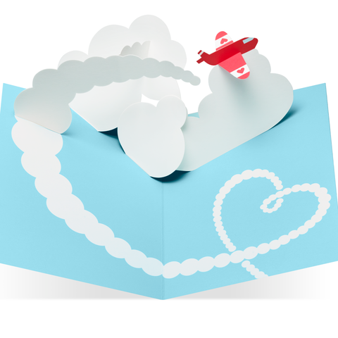MoMA - Pop-Up Card - Sky Love You