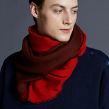 Marumasu - tencel scarves - red