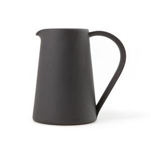 Another Country - Stoneware Pitcher BLACK