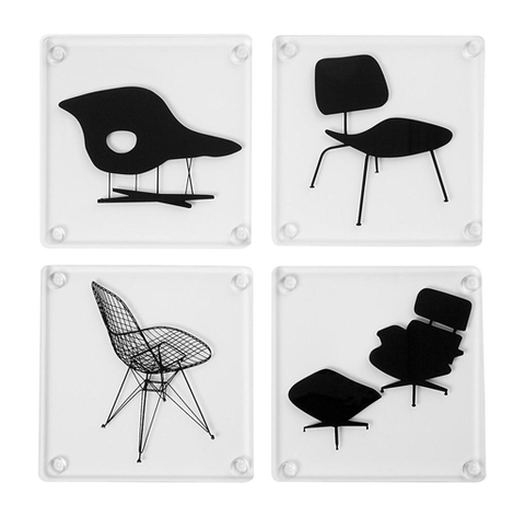 MoMA - Eames Coasters (set of 4 chairs)