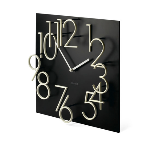 MoMA - Glow in the Dark Wall Clock