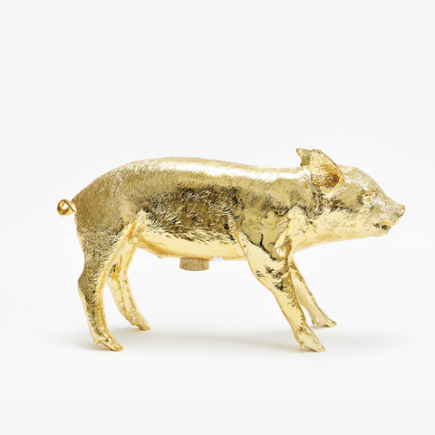 Areaware - Harry Allen - Piggy Bank - gold